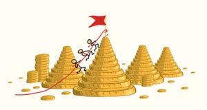 Η νίκη του ανταγωνισμού αυξάνει το εισόδημα απεικόνιση αποθεμάτων