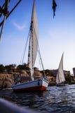 Η ναυσιπλοΐα βραδιού Στοκ φωτογραφία με δικαίωμα ελεύθερης χρήσης