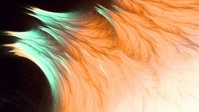 Η να λάμψει πιό linier fractal ύφους τέχνη διανυσματική απεικόνιση