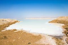 Η νεκρή θάλασσα στο Ισραήλ Στοκ φωτογραφία με δικαίωμα ελεύθερης χρήσης