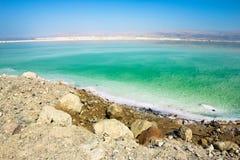 Η νεκρή θάλασσα στο Ισραήλ Στοκ Εικόνα