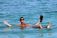 Η νεκρή θάλασσα - Ισραήλ Στοκ Εικόνες
