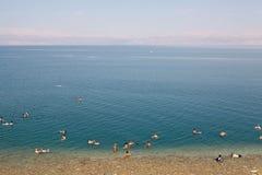 Η νεκρή θάλασσα Στοκ Εικόνα