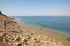 Η νεκρή θάλασσα Στοκ Φωτογραφία