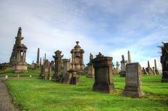 Η νεκρόπολη της Γλασκώβης, βικτοριανό γοτθικό νεκροταφείο, Σκωτία, UK Στοκ Φωτογραφίες