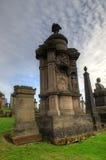 Η νεκρόπολη της Γλασκώβης, βικτοριανό γοτθικό νεκροταφείο, Σκωτία, UK Στοκ Εικόνα