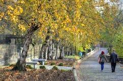 Η νεκρόπολη της Γλασκώβης, βικτοριανό γοτθικό νεκροταφείο, Σκωτία, UK Στοκ Εικόνες