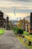 Η νεκρόπολη της Γλασκώβης, βικτοριανό γοτθικό νεκροταφείο, Σκωτία, UK Στοκ εικόνα με δικαίωμα ελεύθερης χρήσης