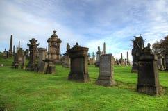 Η νεκρόπολη της Γλασκώβης, βικτοριανό γοτθικό νεκροταφείο, Σκωτία, UK Στοκ φωτογραφία με δικαίωμα ελεύθερης χρήσης