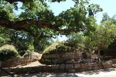 Η νεκρόπολη Etruscan Cerveteri Στοκ εικόνα με δικαίωμα ελεύθερης χρήσης