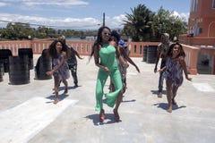 η νεολαία χορού, Μαδαγασκάρη, Μαδαγασκάρη Στοκ φωτογραφία με δικαίωμα ελεύθερης χρήσης