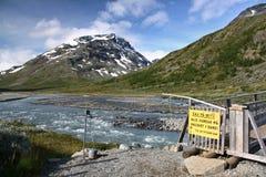 η Νορβηγία Στοκ Εικόνα