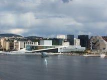 Η νορβηγική όπερα Στοκ εικόνα με δικαίωμα ελεύθερης χρήσης