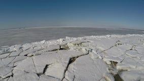 Η νότια ακτή του Κόλπου της Φινλανδίας με μια πανοραμική θέα απόθεμα βίντεο