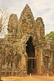 Η νότια πύλη Angkor Thom, Angkor περιοχή, Siem συγκεντρώνει, Καμπότζη Στοκ φωτογραφίες με δικαίωμα ελεύθερης χρήσης