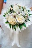 η νύφη ανθοδεσμών ανθίζει τ&o Στοκ φωτογραφία με δικαίωμα ελεύθερης χρήσης