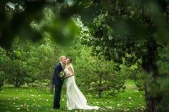 Η νύφη και ο νεόνυμφος στοκ φωτογραφία με δικαίωμα ελεύθερης χρήσης