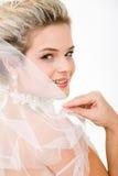 η νύφη κοιτάζει Στοκ φωτογραφίες με δικαίωμα ελεύθερης χρήσης