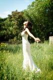 Η νύφη στοκ εικόνα με δικαίωμα ελεύθερης χρήσης