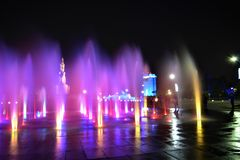Η νύχτα σε Loreto Στοκ Εικόνες