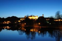 η νύχτα της Γερμανίας Στοκ εικόνα με δικαίωμα ελεύθερης χρήσης