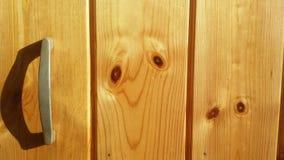 Η ξύλινη πόρτα Στοκ φωτογραφία με δικαίωμα ελεύθερης χρήσης