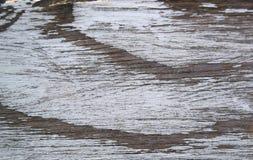 Η ξύλινη σύσταση υποβάθρου στενοχώρησε το λευκό αγροτικό Στοκ Φωτογραφίες