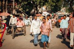 Η οδός του παλαιού Δελχί, Ινδία Στοκ εικόνα με δικαίωμα ελεύθερης χρήσης
