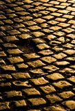 Η οδός των χρυσών κύβων στοκ εικόνα με δικαίωμα ελεύθερης χρήσης