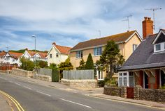 Η οδός Lyme REGIS Δυτικό Dorset Αγγλία στοκ εικόνες