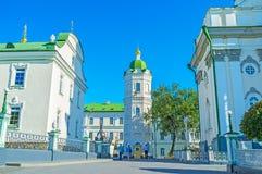 Η οδός Pochaev Lavra σύνθετη Στοκ εικόνα με δικαίωμα ελεύθερης χρήσης