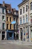 Η οδός rue de la Monnaie στη Λίλλη, Γαλλία Στοκ Φωτογραφίες