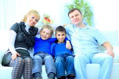 η οικογένεια απομόνωσε τ στοκ εικόνες με δικαίωμα ελεύθερης χρήσης