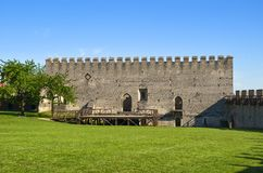 Η οικοδόμηση του βασιλικού κάστρου σε Szydlow, Πολωνία στοκ φωτογραφία με δικαίωμα ελεύθερης χρήσης