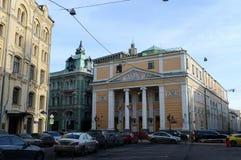 Η οικοδόμηση του Εμπορικού και Βιομηχανικού Επιμελητηρίου της Ρωσικής Ομοσπονδίας στο κέντρο της Μόσχας στοκ φωτογραφίες με δικαίωμα ελεύθερης χρήσης