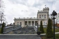 Η οικοδόμηση του μουσείου πόλεων σε Druskininkai Λιθουανία Στοκ φωτογραφίες με δικαίωμα ελεύθερης χρήσης