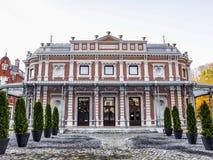 Η οικοδόμηση Pavillon des Petits Jeux στη SPA, Βέλγιο στοκ φωτογραφία με δικαίωμα ελεύθερης χρήσης