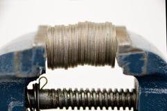 Η οικονομική κρίση Στοκ φωτογραφία με δικαίωμα ελεύθερης χρήσης