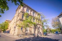 Η οικοδόμηση της ακαδημίας τέχνης Στοκ Εικόνες
