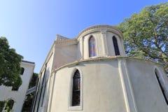 Η οικοδόμηση της καθολικής εκκλησίας gulangyu μέσα η πόλη, Κίνα Στοκ εικόνα με δικαίωμα ελεύθερης χρήσης