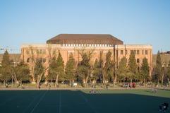 Η οικοδόμηση του πανεπιστημίου Tsinghua. στοκ φωτογραφία