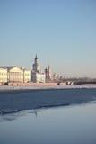 Η οικοδόμηση του Kunstkamera θόλος Isaac Πετρούπολη Ρωσία s Άγιος ST καθεδρικών ναών Στοκ εικόνα με δικαίωμα ελεύθερης χρήσης