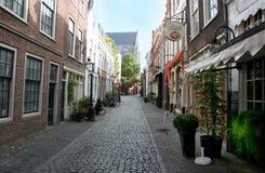 Η ολλανδική πόλη του Λάιντεν Στοκ Φωτογραφίες