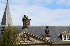 Η ολλανδική πόλη του Λάιντεν Στοκ Φωτογραφία