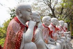 Η ομάδα αγαλμάτων arhat Στοκ Φωτογραφία