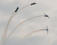 Η ομάδα επίδειξης αέρα λεπίδων Στοκ εικόνες με δικαίωμα ελεύθερης χρήσης