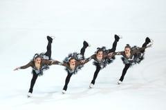 Η ομάδα Καναδάς ένα εκτελεί Στοκ φωτογραφία με δικαίωμα ελεύθερης χρήσης