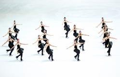 Η ομάδα Καναδάς δύο εκτελεί Στοκ φωτογραφία με δικαίωμα ελεύθερης χρήσης