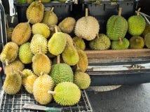 Η ομάδα Durian είναι έτοιμη για πωλεί Στοκ εικόνα με δικαίωμα ελεύθερης χρήσης
