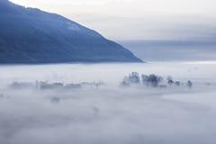 Η ομίχλη Στοκ φωτογραφίες με δικαίωμα ελεύθερης χρήσης